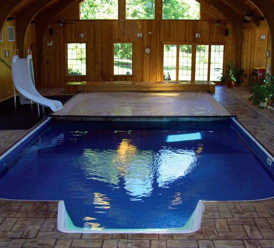 Photo gallery cover pools - Unique indoor swimming pools ...