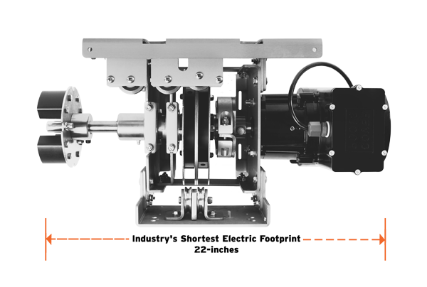 T4 motor and mechanism with dimensions